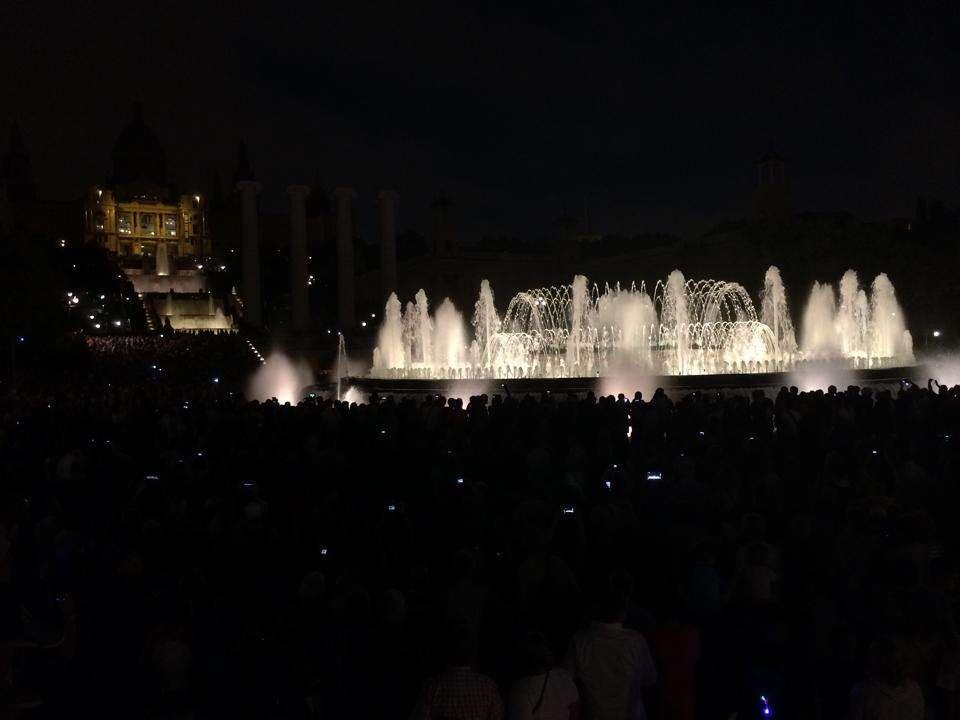 Montjuic - Barcelona Spain