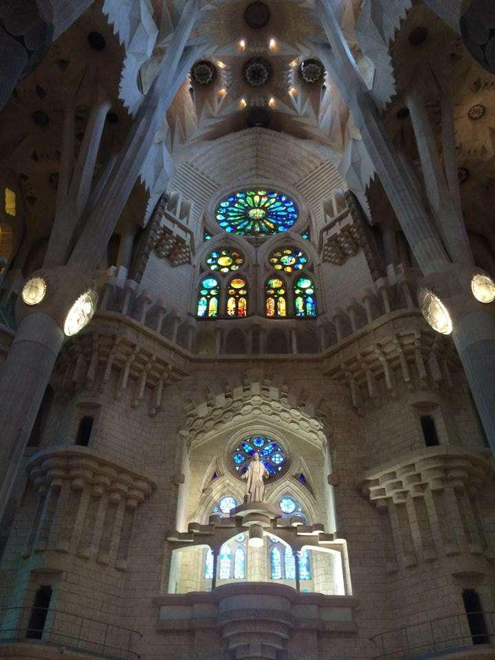 Sagrada Familia Church - Barcelona Spain