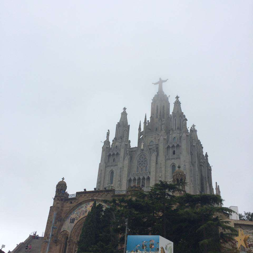 Temple of the Sacred Heart of Jesus - Barcelona Spain